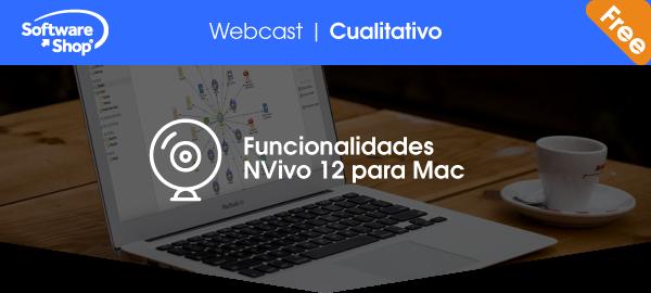 Funcionalidades NVivo 12 para Mac