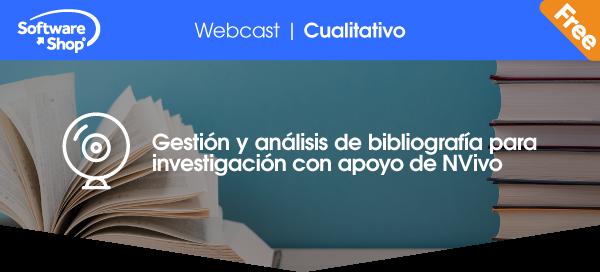 Gestión y análisis de bibliografía para investigación con apoyo de NVivo