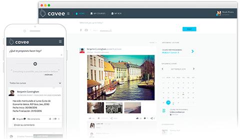 Cavee - Plataforma de aprendizaje virtual