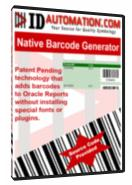 Native Barcode Generator for Oracle Reports