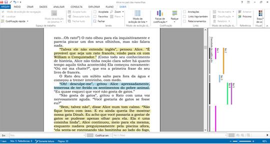 NVivo - Consultas de texto exploratórios na localização