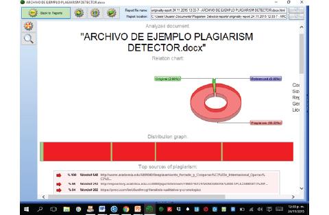 Plagiarism Detector - Reporte de originalidad
