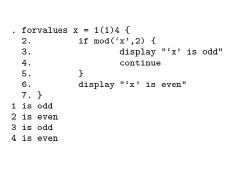 Stata - Característica de programación